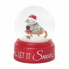 Me to You Snow Globe Boxed Christmas Shaker Xmas Gift - Tatty Teddy Bear