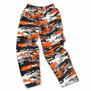 Zubaz NFL Men's Cincinnati Bengals Camo Casual Active Pants