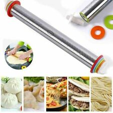 Pizza Non-Stick Fondant Mat Dough Roller Baking Tools Bakeware Rolling Pin