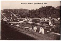CPA 39 - MOIRANS (Jura) - Quartier de la Gare