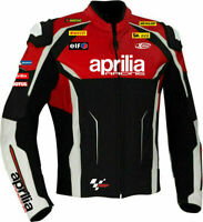 "NEW ""APRILIA"" MOTOGP Motorcycle Riding Motorbike Racing Leather Jacket"
