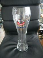 Großes 3 Liter Erdinger Weissbier Glas Fussball TOP