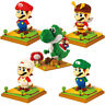 Large Mario Luigi Yoshi LNO 154 BLOCK Mini Building Block iBlock a F01