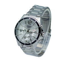 -Casio MTP1374D-7A Men's Metal Fashion Watch Brand New & 100% Authentic
