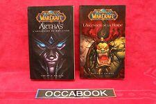 WORLD OF WARCRAFT - Arthas + L'ascension de la horde - Christie Golden