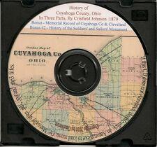 Cuyahoga County Ohio History- Cleveland + Bonus Books
