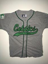 Vintage 1990s Starter Boston Celtics Jersey Mens Size M Gray NBA Basketball