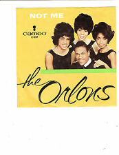 The Orlons TEEN 45 (CAMEO 257) Not Me/ My Best Friend NM
