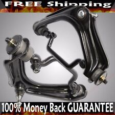 Front LH+RH Upper Control Arms Black for 2002-2005/07/19 Mercury Mountaineer