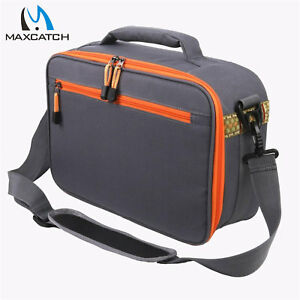 """Maxcatch Fishing Reel and Gear Bag Adjustable Reel Case Size:15.2"""" x10.1"""" x 5.1"""""""