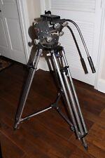 O'Connor Model 50 Pan/Tilt Fluid Head With Aluminum Peter Lisand Tripod Legs