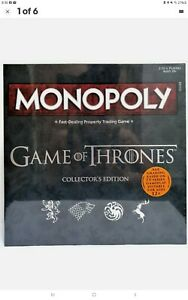 Monopoly Game of Thrones Collectors Edition Board Game Brand New SEALED