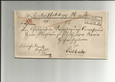 Preussen V. / BAD OEYNHAUSEN / 3 11 * 9 10, klarer Ra3 auf Kabinett-Paketbegleit