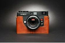 Leather Half Case for Minolta CLE (choice of colours) - BRAND NEW