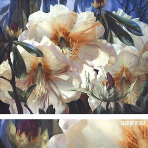 """40W""""x30H"""" WILDWOOD SPRING by ELIZABETH HORNING - VIVID BLOOMING FLOWERS CANVAS"""