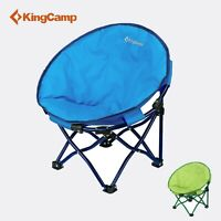 KingCamp Kids Moon Portable Stable Folding Chair with Safe Lock Camping Casual