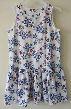 Brand New Lands' End Star Print Drop Waist Tank Dress Girl's Size L / 14 PLUS