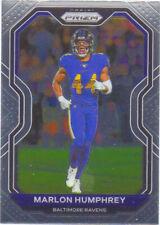 2020 Panini Prizm #43 Marlon Humphrey Baltimore Ravens Football Card
