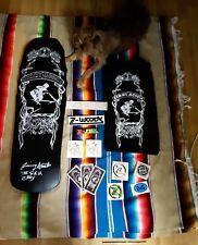 Skeleton key Skateboard Deck Jimmy Acosta z-flex,dogtown,Alva,S.M.A. 80's sk8🍻