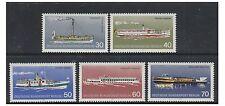 Germania (BERLINO) - 1975 imbarcazioni da diporto Set-Gomma integra, non linguellato-SG B467/71