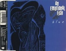 AN EMOTIONAL FISH - BLUE - CD SINGLE 1990 RARE