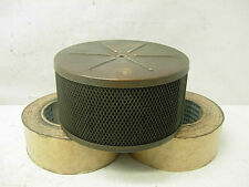 1960s ALL BRASS BARBRON 400-3 FLAME ARESTOR AIR CLEANER RIVA SPEED BOAT NICSON