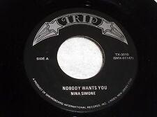 Nina Simone: Nobody Wants You / Sugar in my Bowl  [Unplayed Copy]