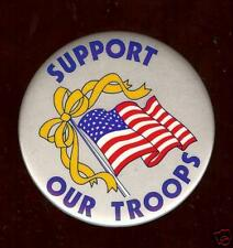 old DESERT STORM era pin Support Our Troops