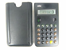 Vintage marron design Calculator et 33 4 993 Calculatrice working condition