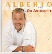 (BP930) Alberto, Oh Antonette - 2000 CD