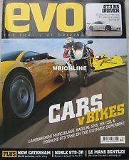 EVO 12/2003 featuring BMW M3, Lamborghini, Porsche GT3, Noble, Bentley Speed 8