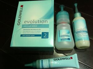 GOLDWELL evolution neutral wave color maintain system hair perm lotion 2