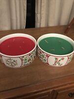Homeworx By Harry Slatkin Holiday Set - Candy Cane Kisses & Santa's Cookies