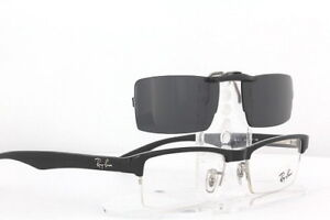 Custom Fit Polarized CLIP-ON Sunglasses For Ray-Ban 7012 53x17 RB7012 RAYBAN
