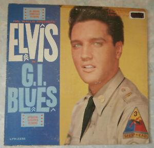 33T Elvis Presley - G.I Blues- RCA 2256 - USA