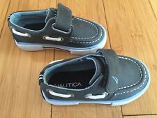 Toddler Boys Gray Nautica Slip-on Loafers ~ Size 5
