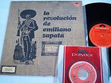 "LA REVOLUCION DE EMILIANO ZAPATA LOT LP +7"" PSYCH POKORA MEXICO DUG DUGS LA VIDA"