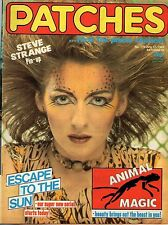 Patches Magazine 17 July 1982 No. 176     Steve Strange    A Flock of Seagulls