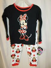 DISNEY JUNIOR GIRL'S ' MINNIE MOUSE'  2 PIECE PAJAMAS/SIZE 3T/NEW WITH TAG