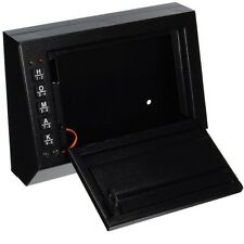 Car Gun Safe Auto Vehicle Electronic Locking Programmable Vault Pistol Lock Box