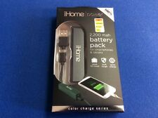 Battery Pack for smart phones, tablets and any USB powered device, 2,200 mah