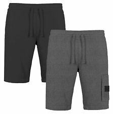 Jack & Jones Neuf Hommes Gosso Sweat Jogger Short Polaire Coton Sport Gym Bas