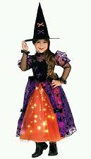 Pretty Witch Dress Kids Halloween Costume 3 - 4 Years