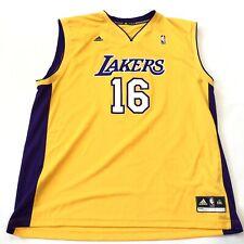 new product 874ed f39ba Pau Gasol Yellow NBA Fan Apparel & Souvenirs for sale | eBay