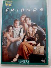 DVD Film Friends Le grandi serie Tv Sorrisi e Canzoni Stagione 6 Episodi 7-12