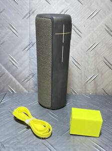 Logitech UE Ultimate Ears Bluetooth Portable Speaker Black S-00151 Used ✌️
