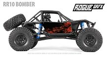 Axial RR10 Bomber Body Graphic Wrap Skin- Natural Flames
