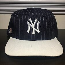 Vintage New York Yankees Plain Logo Snapback Hat Sports Specialties Rare 90s MLB