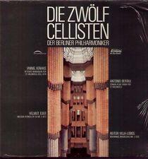 Xenakis, Eder, Bertali, Villa-Lobos LP, Die Zwölf Berliner Cellisten