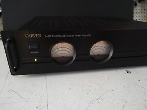 Carver  A-220 Total Direct Coupled Power Amplifier